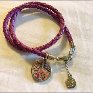 Vera Bradley Purple Wrap Bracelet